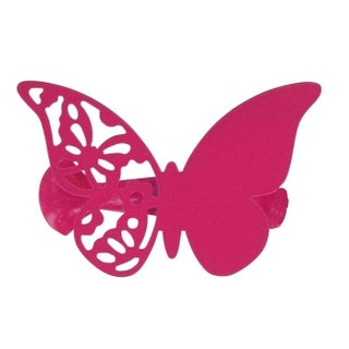 Evideco Metal Butterfly Holdback Big Size Mariposas Set of 2