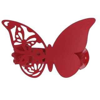 Evideco Metal Butterfly Holdback Big Size Mariposas Set of 2