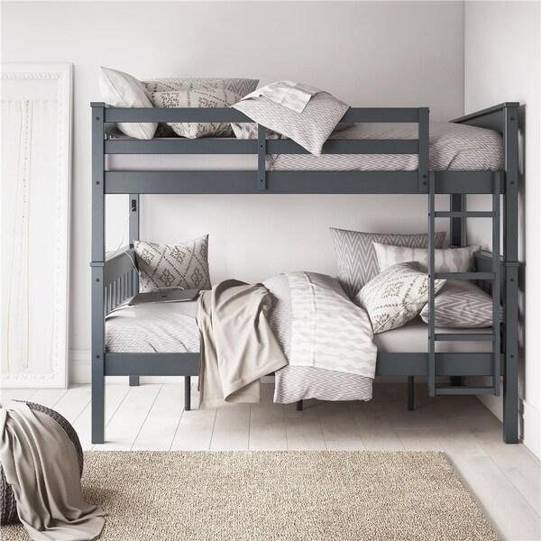Avenue Greene Ellison Full over Full Bunk Bed with USB Port