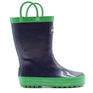 Mucky Wear Kids' Waterproof Solid Color Loop Boot
