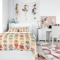 Designart - Children'S Pattern - Modern Teen Duvet Cover Set