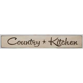 Rustic Wall Sign - Country Kitchen - Antique White