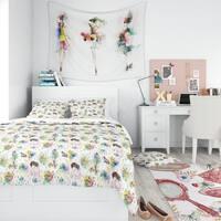 Designart - Beauty and Fashion Pattern - Modern Teen Duvet Cover Set