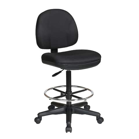 Office Star Work Smart Drafting Chair with Stool Kit