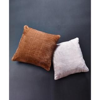 Fauxfur Decorative Throw Pillow in 18x18 - Insert Included