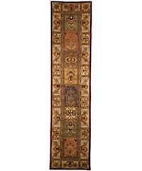 Safavieh Handmade Classic Bakhtieri Multicolored Wool Rug (2'3 x 12')
