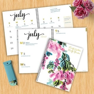 2019 Floral Large Weekly Monthly Planner
