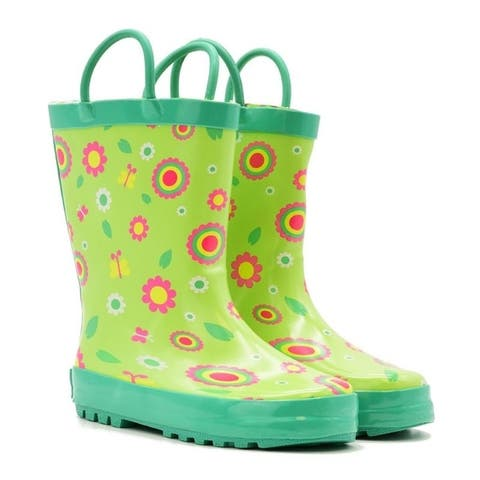 Mucky Wear Children's Waterproof Patterned Loop Boot