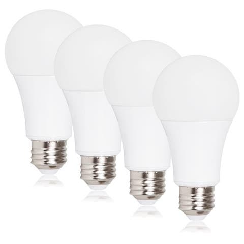 Maxxima Dimmable A19 LED Light Bulb, 100 Watt Equal, 1650 Lumens 2700K Warm White (4 Pack)