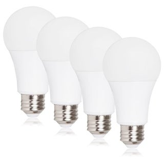 Maxxima Dimmable A19 LED Light Bulb, 100 Watt Equal, 1650 Lumens 2700K Warm White (4 Pack)