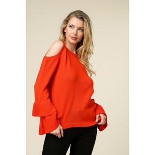 Olivia Pratt Tiered Sleeve Sweater