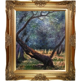 Claude Monet 'Olive Trees' (Study) Hand Painted Oil Reproduction