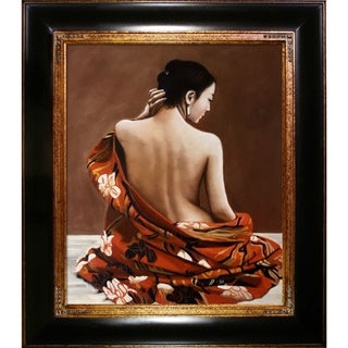 Tiger Lily' Hand Painted Oil Reproduction