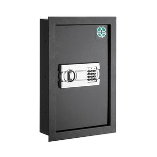 Lucky Guard Electronic Economy Wall Safe Hidden Large Safes Jewelry Secure Dark