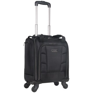 Kenneth Cole Reaction 16in 4-Wheel Spinner Business Underseater Carry On With USB Charging Port & 14.1in Laptop Pocket