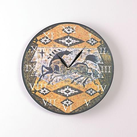 Dance of the Stars 12 Inch Round Clock