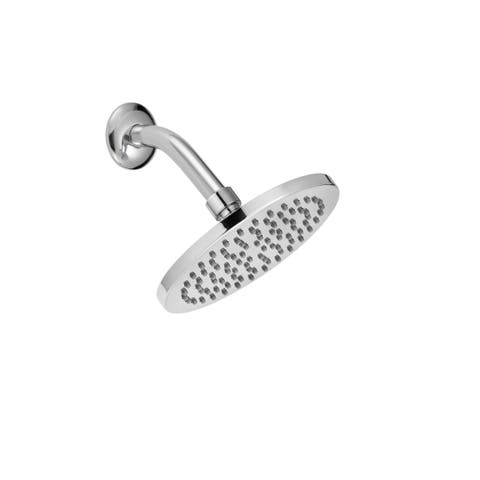 "Safavieh Solea Amin Rainfall Stainless Steel Single Setting Bathroom Shower Head - 1.5"" x 1.5"" x 2.4"""