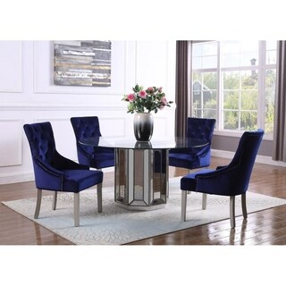 Best Master Furniture 5 Pieces 60 Inch Dining Set