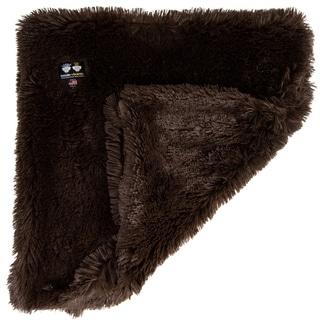 Link to Bessie and Barnie Ultra Plush Grizzly Bear Luxury Shag Dog/ Pet Blanket - brown Similar Items in Dog Beds & Blankets