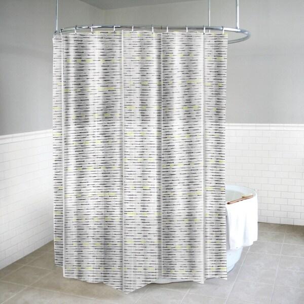 Shop Splash Home Chartreuse PEVA Shower Curtain 72 X 70 Yellow