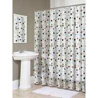"""Splash Home Jot PEVA Shower Curtain, 72"""" x 70"""", Earth"""