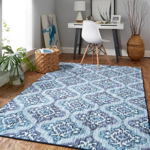 Mohawk Home Rialto Moroccan Ikat Tile Area Rug