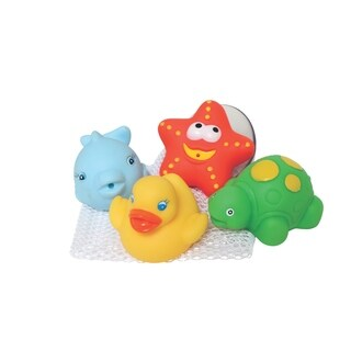 Bath Squirtees and Storage Set