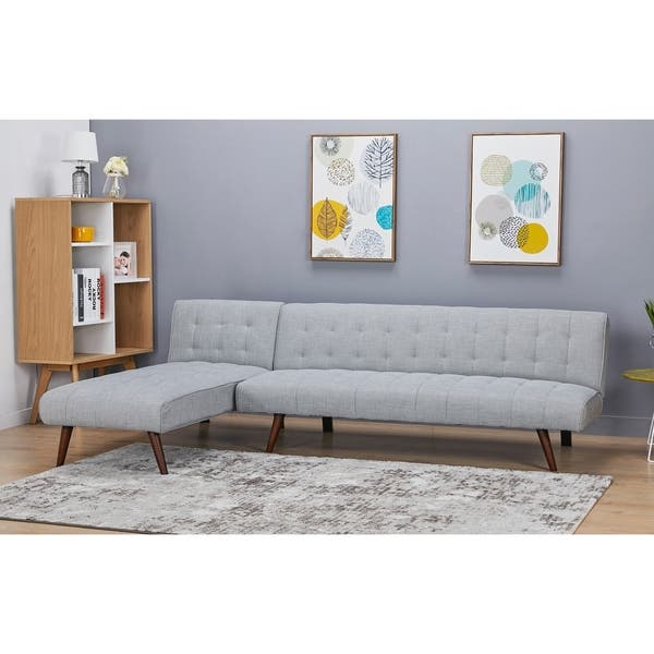 Incredible Shop Shelton Sand Convertible Sectional Sofa Bed Free Spiritservingveterans Wood Chair Design Ideas Spiritservingveteransorg