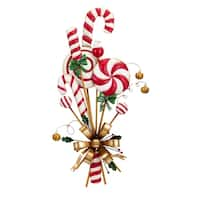 Multi-color Christmas Candy Can Door Hanger