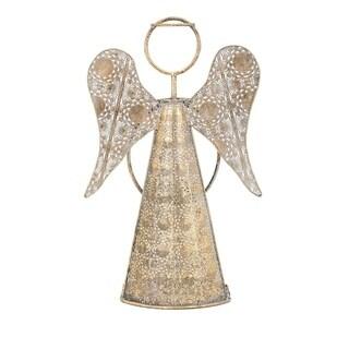 Gold Christmas Natalia Large Angel