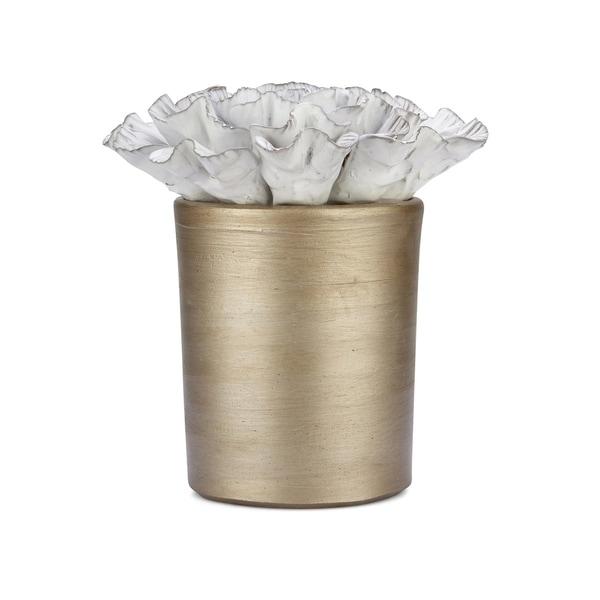 Trisha Yearwood Metallic Gold Nightingale Neveah Flower