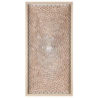 Carlise Natural Dimensional Shadowbox Wall Decor