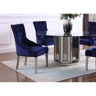 Link to Best Master Furniture Glam Upholstered Side Chair (Set of 2) Similar Items in Dining Room & Bar Furniture