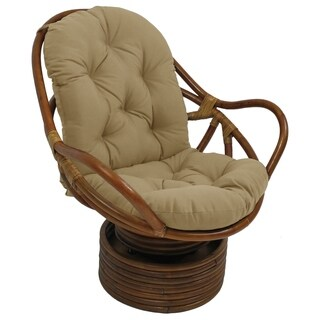 Blazing Needles Indoor/Outdoor Swivel Rocker Cushion