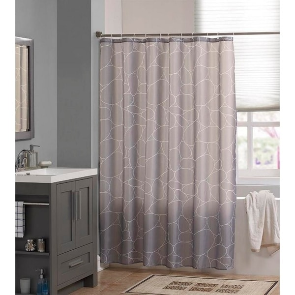 Shop Waterproof Fabric Shower Curtain Liner 72x72 Inch