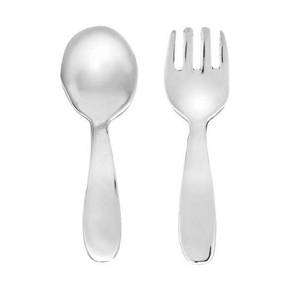 Shop Handmade Symbol Of Wealth Fork And Spoon Sterling Silver Post