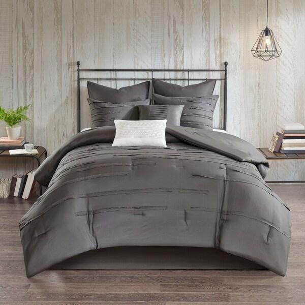 510 Design Janeta Grey 8 Piece Comforter Set