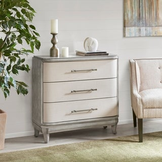 Madison Park Carolina Grey 3 Drawer Chest