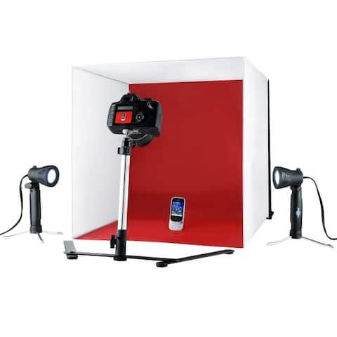 Shutter Starz Professional Quality Studio ProPhotoz Kit Light Cube Product Photo Tent