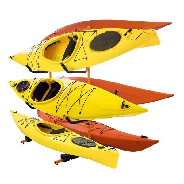 Shop Black Friday Deals On Rad Sportz Tall Stand Freestanding Heavy Duty Kayak Rack Two Kayak Storage Overstock 23525695