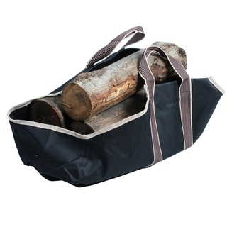 Portable Canvas Heavy Duty Log Carrier by Kodiak - 6 x 2.5 x 10