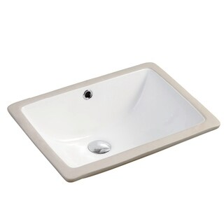 "Safavieh Solea Collection Seaton Bathroom Sink - 18.5"" x 13.8"" x 8.3"""