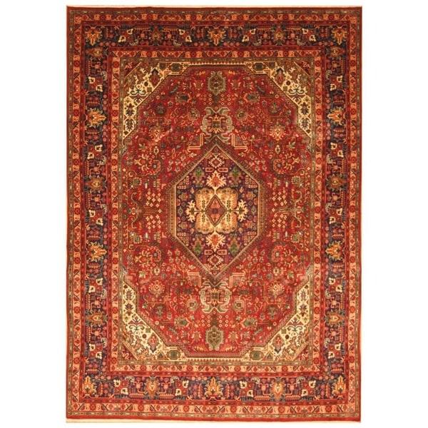 Handmade Tabriz Wool Rug (Iran) - 7'10 x 10'10