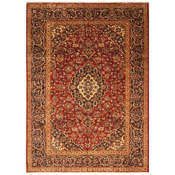 Handmade Kashan Wool Rug (Iran) - 8'2 x 11'