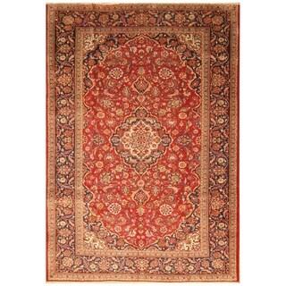 Handmade Kashan Wool Rug (Iran) - 8'2 x 11'9