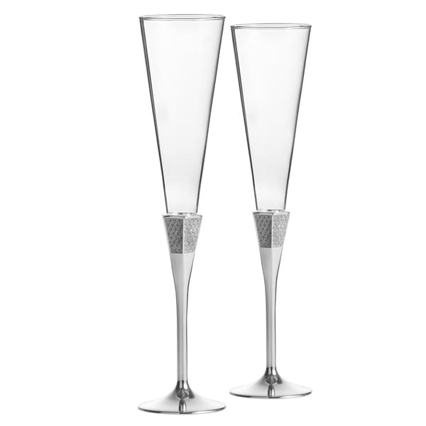 Lismore Diamond Toasting Flute (Set of 2)