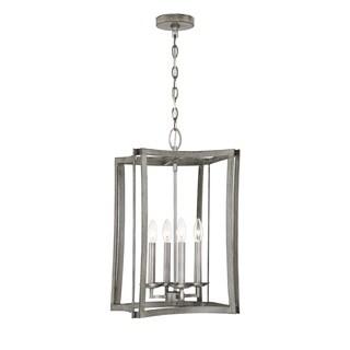 Brookline Pewter 4-light Pendant