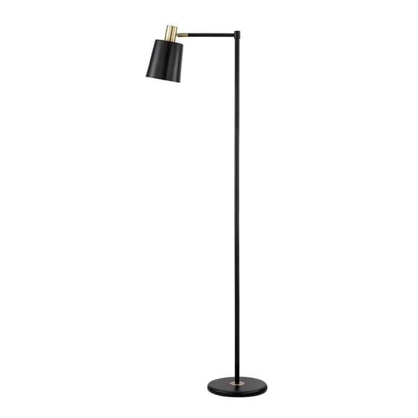 "Lex 60"" Black Finish Floor Lamp. Opens flyout."