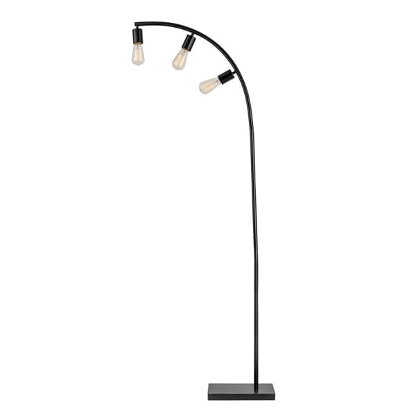 "Winslow 70"" Black 3-Light Floor Lamp. Opens flyout."