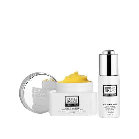 Erno Laszlo White Marble Dual Phase Vitamin C 2-piece Peel Set